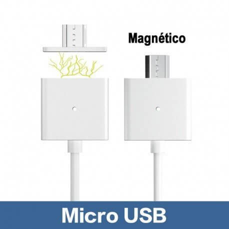 CABLE USB 2.0 A MICRO USB MAGNETICO