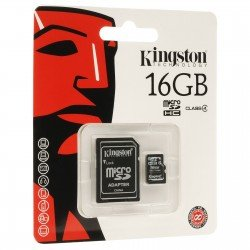 KINGSTON TARJETA MEMORIA MICROSDHC 16GB CLASS4