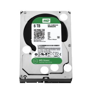 """WD CAVIAR GREEN WD60EZRX 6TB 3.5"""" SATA3 64MB"""