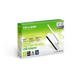 TP-LINK TL-WN722N ANTENA USB WIFI N150 2.4GHZ dBi