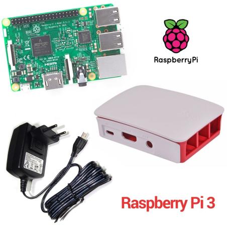 RASPBERRY PI 3 - MODELO B 1GB - KIT DE INICIO BASICO