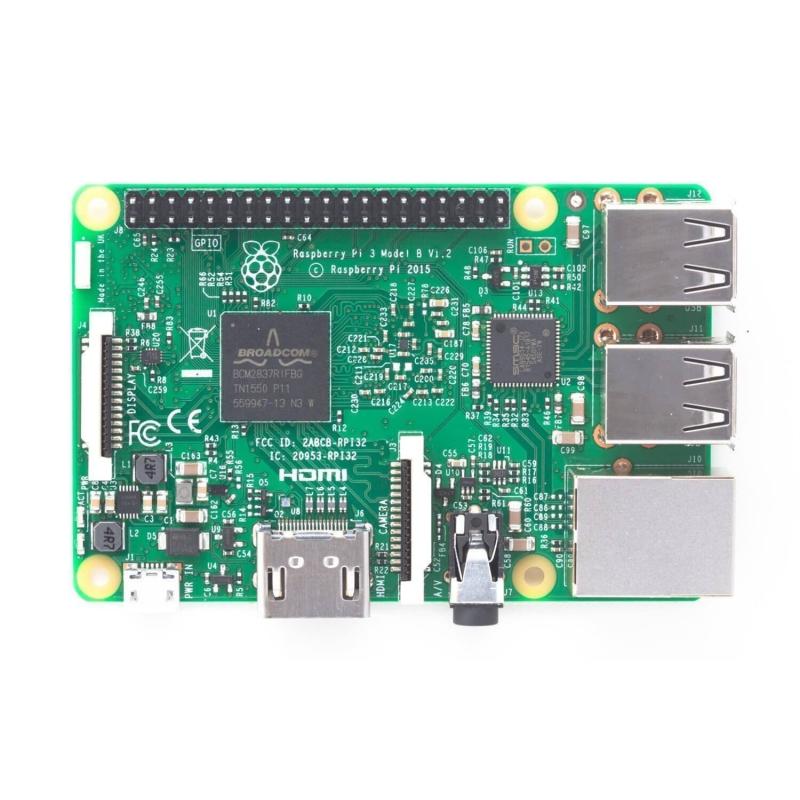 RASPBERRY PI 3 - MODELO B 1GB - QUAD CORE 1.2GHZ 64 BITS