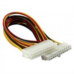 CABLE ALARGADOR/EXTENSION FUENTE ATX 24 PINES 30CM