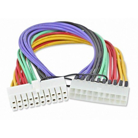 CABLE ALARGADOR/EXTENSION FUENTE ATX 20 PINES 25CM