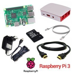 RASPBERRY PI 3 - MODELO B 1GB - KIT DE INICIO AVANZADO (8GB)