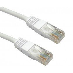CABLE RED UTP CAT.5E RJ45 1 METRO GRIS