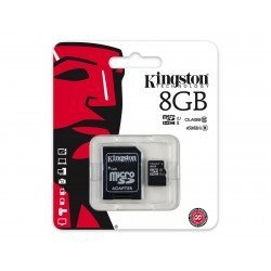 KINGSTON TARJETA MEMORIA MICROSDHC 8GB CLASS10 UHS-I 45MB/S