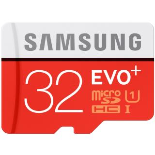SAMSUNG MICROSDHC 32GB CLASS10 UHS-I EVO+ 80MB/S