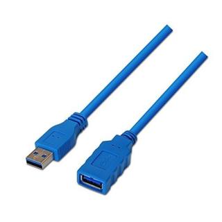 CABLE ALARGADOR USB 3.0 USB-A/M - USB-A/H 2 METROS PREMIUM