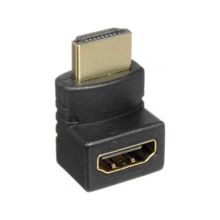 ADAPTADOR HDMI MACHO/HEMBRA CODO/ANGULO/270º