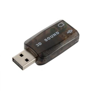 ADAPTADOR DE SONIDO 5.1 3D POR USB 2.0
