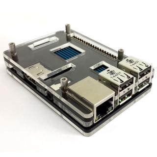 CAJA ACRILICA LCD/HAT PARA RASPBERRY PI 2 B / B+
