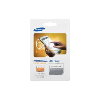 SAMSUNG MICROSDXC 64GB CLASS10 UHS-I EVO 48MB/S
