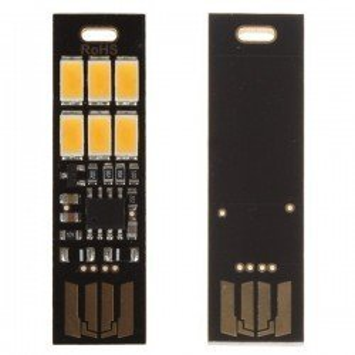 MINI LAMPARA LED USB PORTATIL REGULABLE 1W
