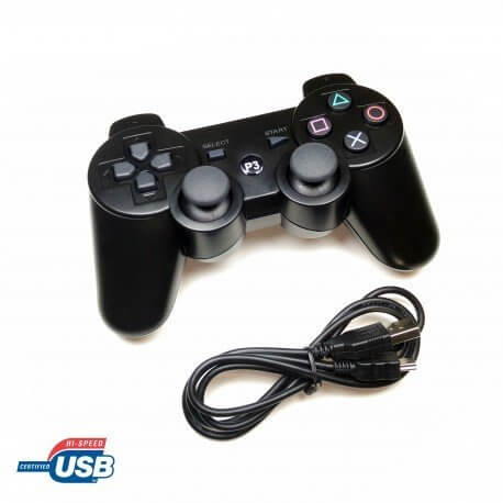 MANDO CONTROLADOR GAMEPAD USB PARA PS3 PC CONSOLA RETROPIE