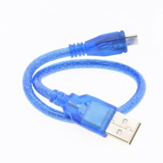 MINI CABLE USB A MICROUSB 30CM PARA ARDUINO NANO MICRO NODEMCU