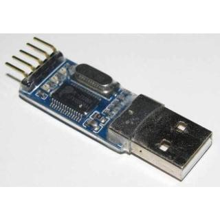 CONVERSOR USB A SERIE RS232 UART TTL 3.3V - PL2303HX