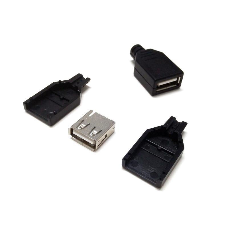 CONECTOR USB-A/H PARA SOLDAR