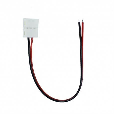 LATIGUILLO CONECTOR TIRA LED 10MM 2 PINES