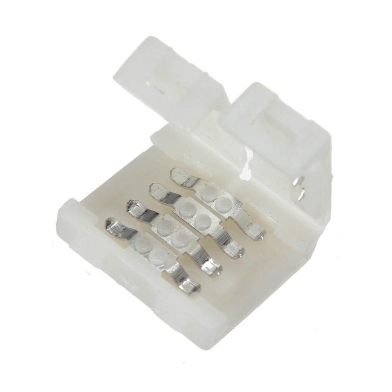 CONECTOR EMPALME TIRA LED RGB 10MM 4 PIN
