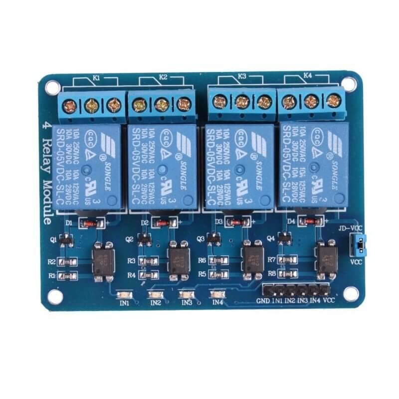 Modulo Rele Canales V Para Arduino on Arduino Relay Module 12v