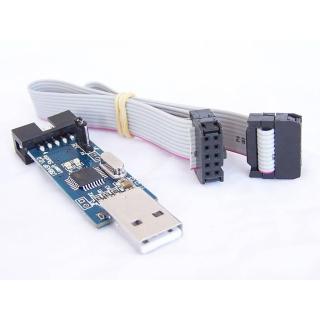 PROGRAMADOR USBASP V2.0 AVR ICSP CON CABLE PARA ARDUINO