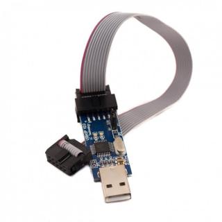 PROGRAMADOR ISP USBASP AVR V2.0 CON CABLE PARA ARDUINO