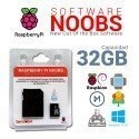SOFTWARE NOOBS PREINSTALADO EN MICROSD 32GB PARA RASPBERRY PI