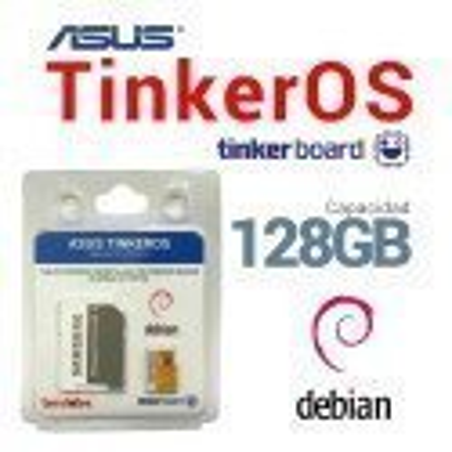 SOFTWARE TINKEROS PREINSTALADO EN MICROSD 128GB PARA ASUS TINKER BOARD