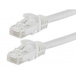 CABLE RED UTP CAT.5E RJ45 1 METRO BLANCO