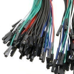 PACK 100 CABLES DUPONT 20CM H/H