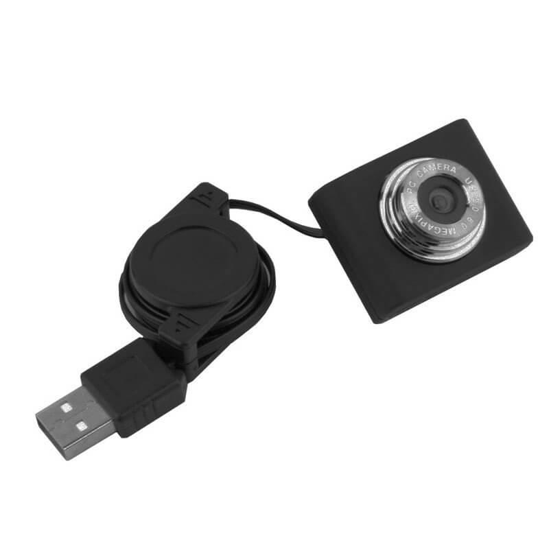 CAMARA WEB USB 5MPX CABLE RETRACTABLE COMPATIBLE RASPBERRY PI