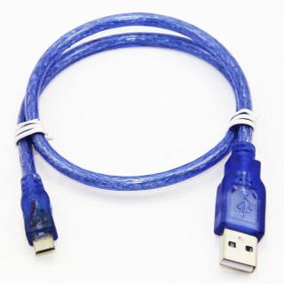 MINI CABLE USB A MICROUSB 50CM PARA ARDUINO NANO MICRO NODEMCU