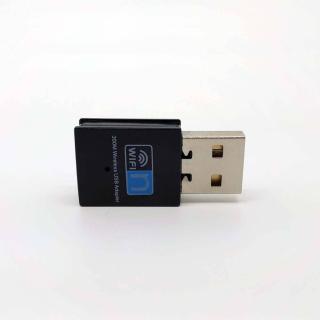 MINI ANTENA WIFI USB NANO 802.11N 300MBPS 2.4GHZ 2DBI RTL8192EU