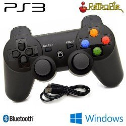 MANDO GAMEPAD PS3 INALAMBRICO BLUETOOTH COMPATIBLE PC, RETROPIE Y RECALBOX