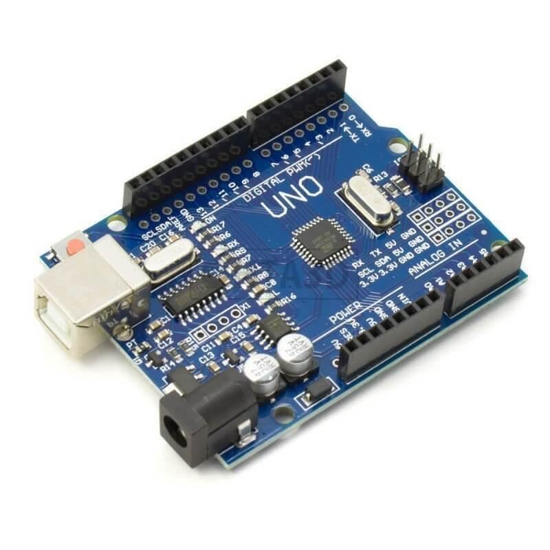 Placa uno r atmega p cable usb compatible arduino