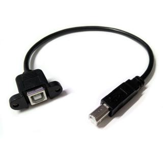 EXTENSOR CONECTOR USB-B/H MONTAJE PANEL 30CM