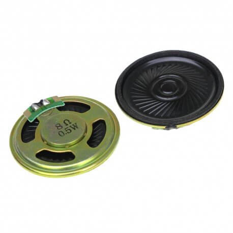 MINI ALTAVOZ 0,5W 8OHM 40MM