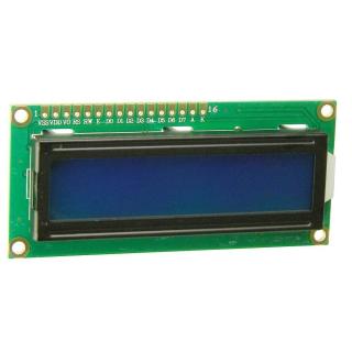 PANTALLA LCD 1602A 16X2 AZUL PARA ARDUINO