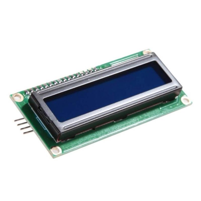 PANTALLA LCD 1602A 16X2 BUS IIC AZUL PARA ARDUINO