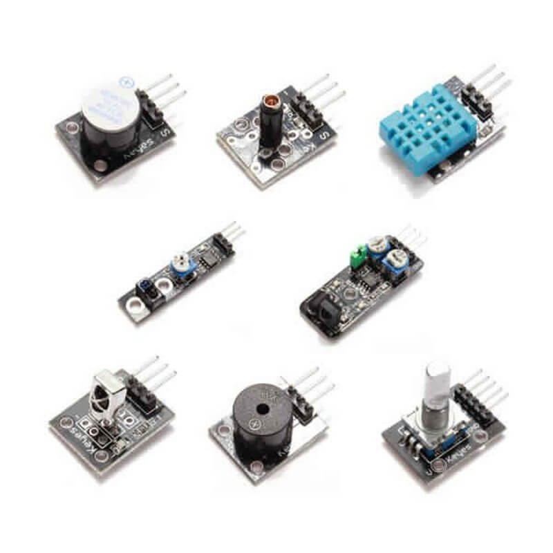 Kit 37 Sensores Y Modulos Para Arduino Tiendatec Es