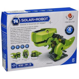CEBEKIT ROBOT SOLAR DINO TRANSFORMER 4-EN-1