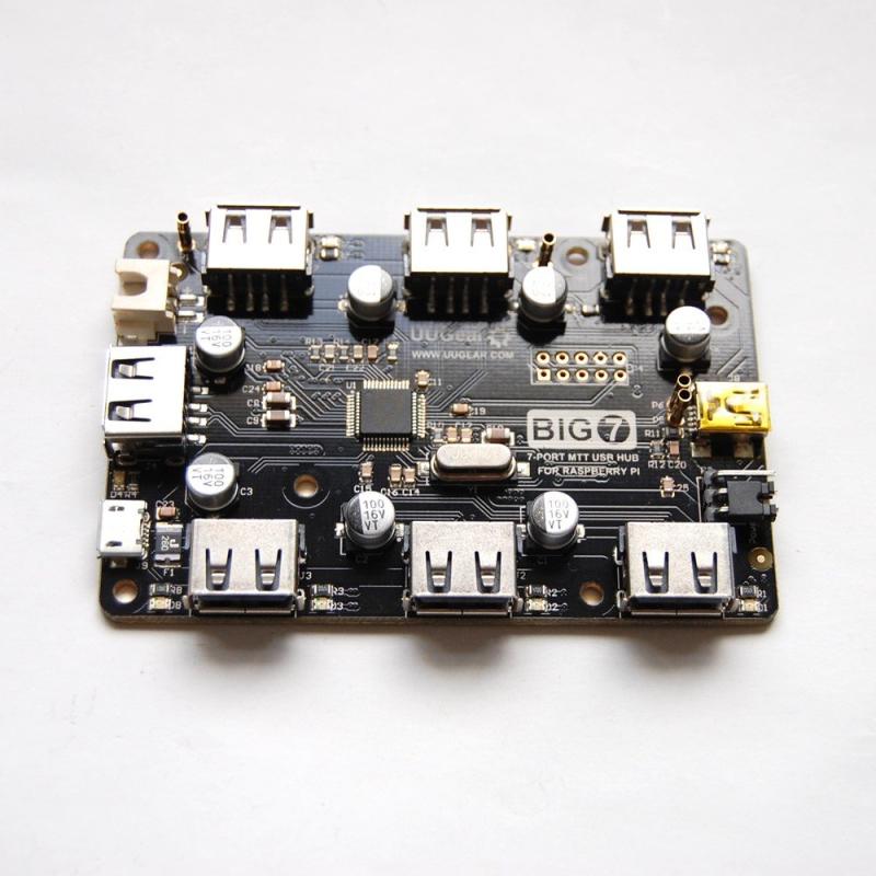 UUGEAR BIG7 HUB USB 7 PUERTOS PARA RASPBERRY PI