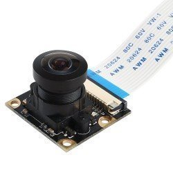 CAMARA PARA RASPBERRY PI 5MPX FOCO MANUAL 160º FISHEYE