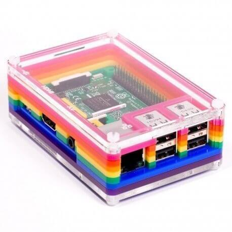 PIMORONI PIBOW RAINBOW PARA RASPBERRY PI