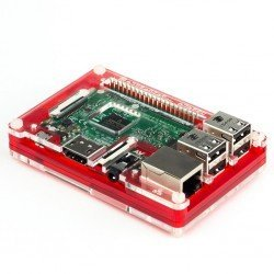 PIMORONI PIBOW COUPÉ RED PARA RASPBERRY