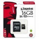 KINGSTON CANVAS SELECT MICROSDHC 16GB CLASS10 UHS-I 80MB/S SDCS/16GB