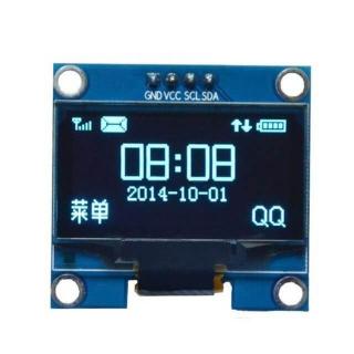 """PANTALLA OLED 1,30"""" 128x64 AZUL I2C IIC SDD1306"""