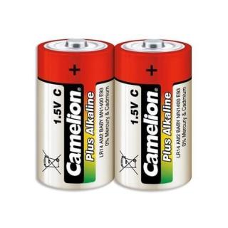 CAMELION PLUS ALCALINA PACK 2 PILAS C LR14 1.5V