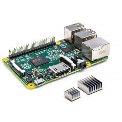 RASPBERRY PI 2 - MODELO B 1GB + KIT 2 DISIPADORES - QUAD CORE